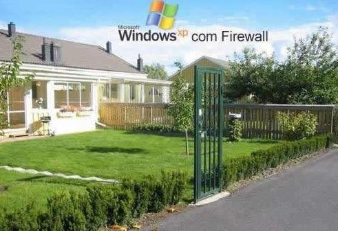 windows XP firewall
