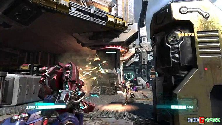Transformers: Fall of Cybertron Gameplay Xbox360 HD